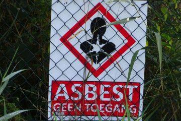 asbest geen toegang