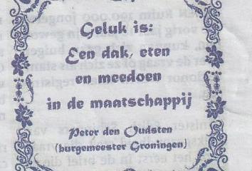 peter den oudsten burgemeester van Groningen.