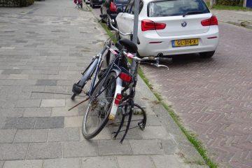 kapotte fiets