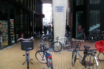 verboden fietsen te plaatsen