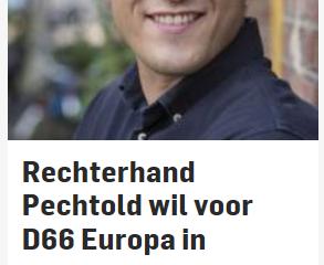 Rechterhand van Pechtold, blote borsten en boerkini's
