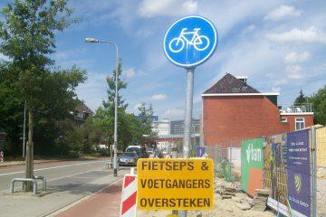 fietsers & voetgangers oversteken