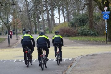 politie op de fiets sterk verhaal