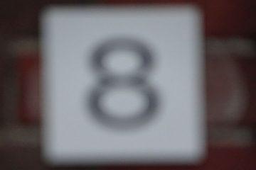 de heks van nummer 8 zou de bal lek steken