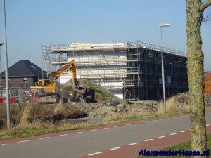 nieuwe gebouwen het Poortje bouwen
