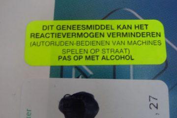 Alcoholvrije kater. medicatie voor de minderwaardige bijstandsslaaf
