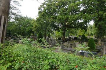bang om te blijven leven begraafplaats