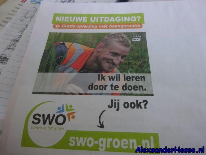 SWO Groen Terra Next opleiding met baangarantie