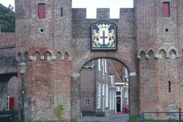 Verdwaald is Amersfoort waterpoort