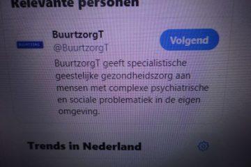 Bij BuurtzorgT staat de vraag van de cliënt centraal op twitter